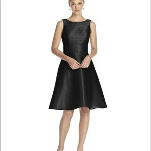 Alfred Sung D681 Black dress size 20 new with tags